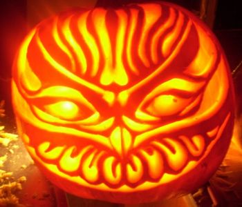 Owl Pumpkin Lantern