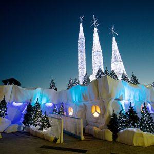 A Christmas Santas Grotto design