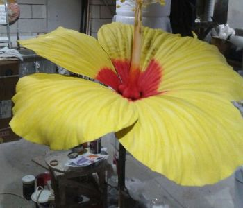 Hibiscus Flower Art Commision In Workshop