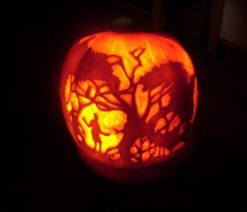 A Pumpkin Lantern