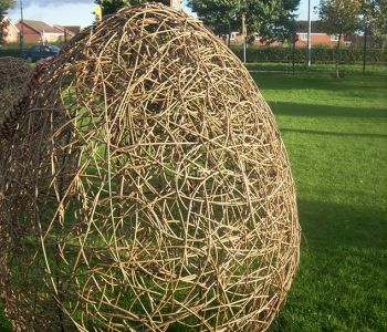 Woven Willow Egg
